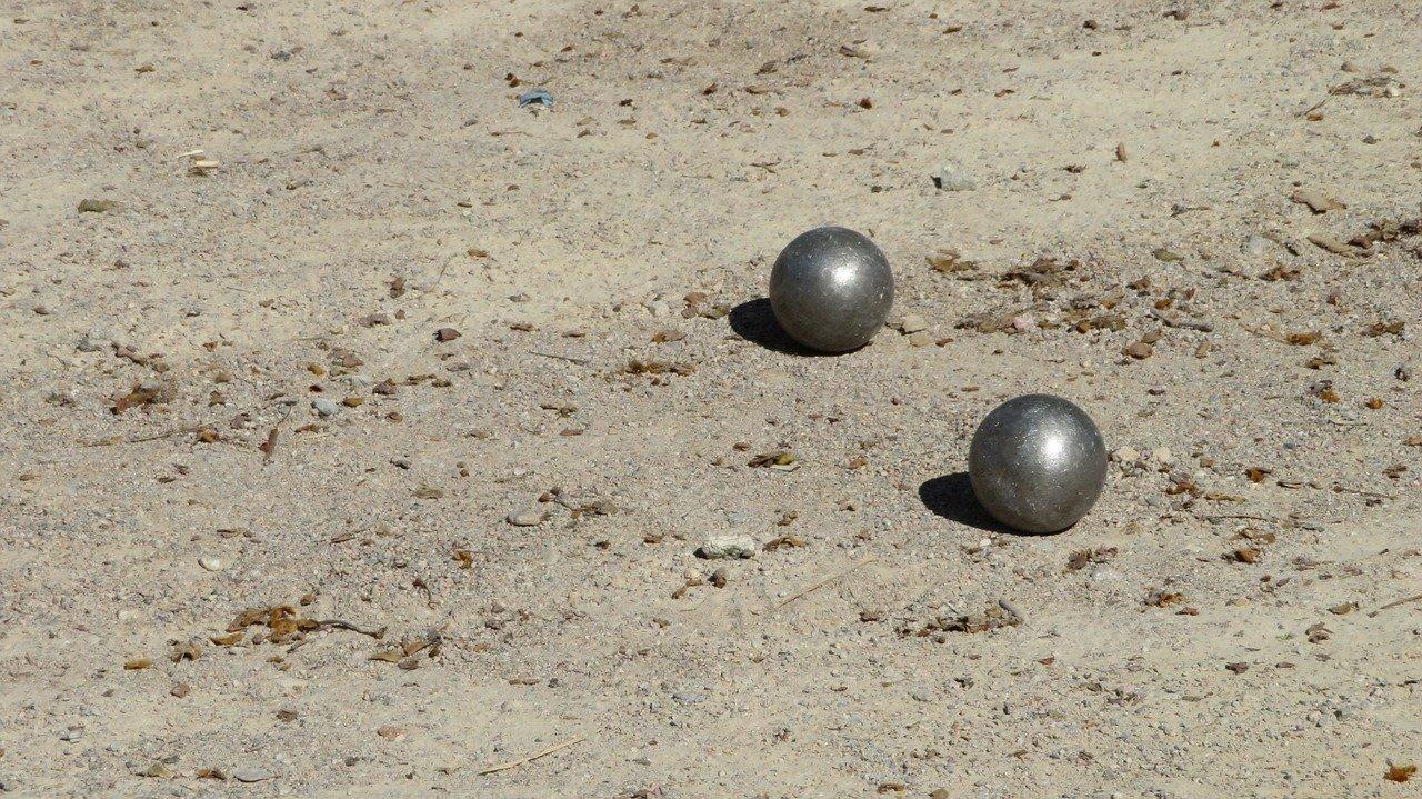 boules de pétanque de compétition